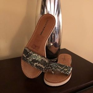 Ladies Lucky Sandals